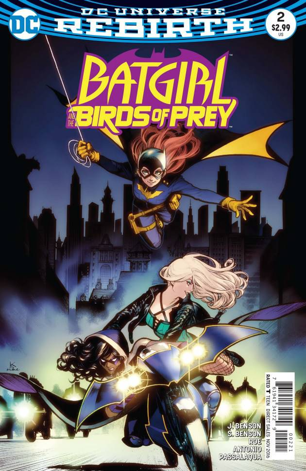 Batgirl & the Birds of Prey (Vol 1 2016) #2 CVR B Karmome Shirahama