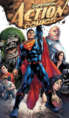 Action Comics #957 2nd Printing Janin Variant