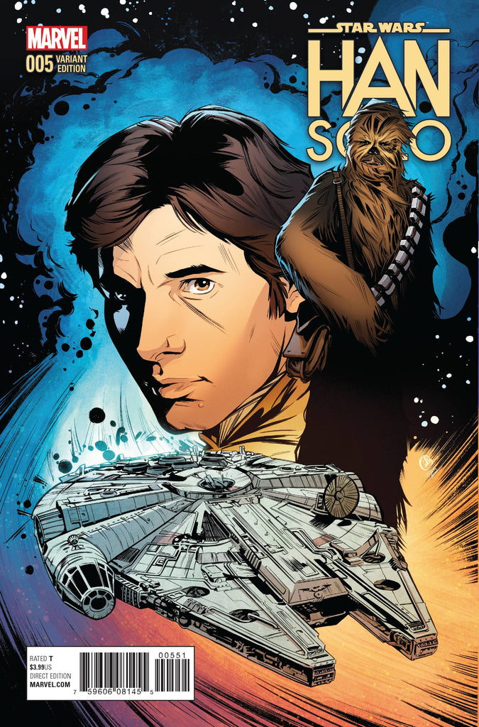 Star Wars - Han Solo (Vol 1 2016) #5 CVR E Joelle Jones Variant