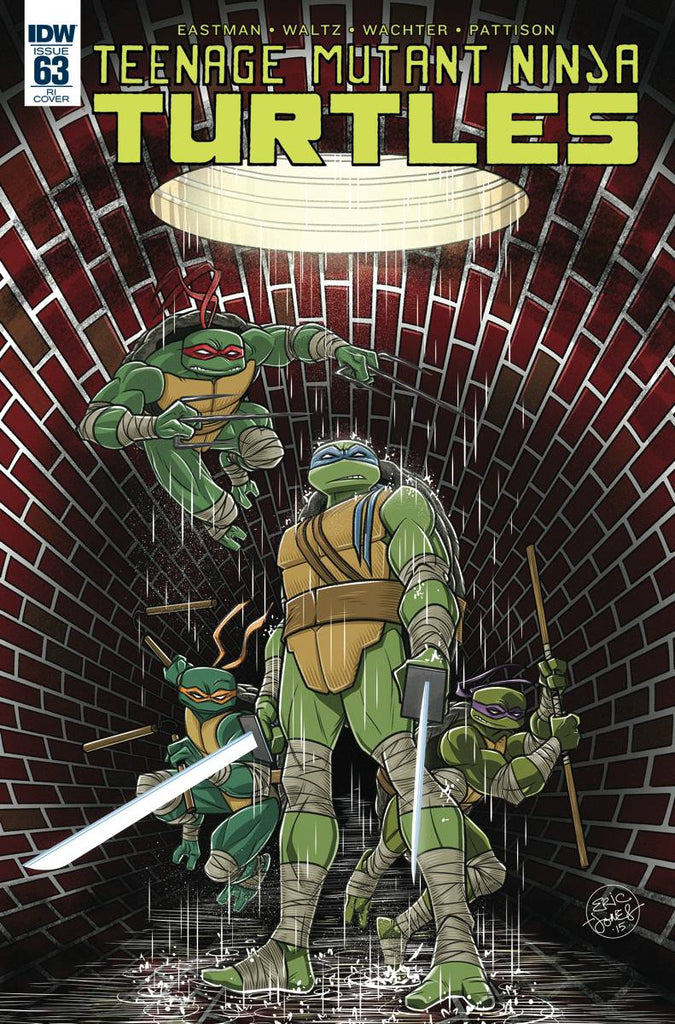Teenage Mutant Ninja Turtles #63 Jones Variant - Coliseum of Comics