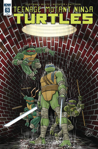 Teenage Mutant Ninja Turtles #63 1/10 Eric Jones Variant