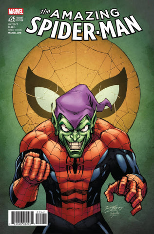 Amazing Spider-Man #25 1/25 Ron Lim Classic Green Goblin Variant