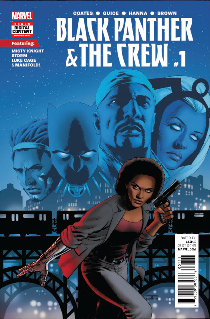 Black Panther and the Crew (Vol 1 2017) #1 CVR A