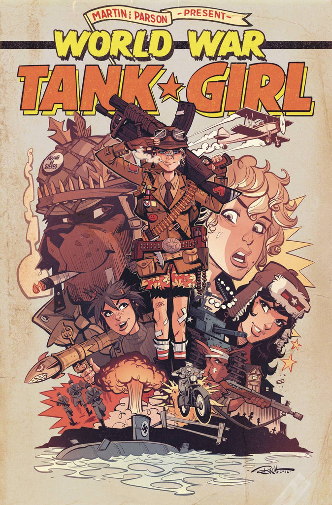 Tank Girl World War Tank Girl #4 (Of 4) Cvr A Parson Alc 1