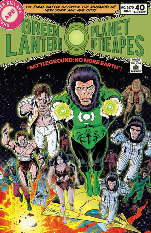 Planet of the Apes / Green Lantern #5 1/20 Paul Rivoche Variant