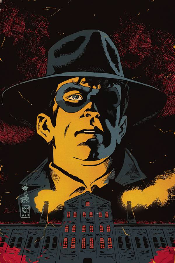 Will Eisner's The Spirit The Corpse Makers #5 1/10 Francesco Francavilla Virgin Art Variant