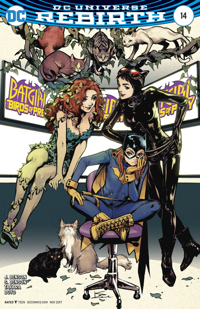 Batgirl & the Birds of Prey (Vol 1 2017) #14 CVR B Karmome Shirahama