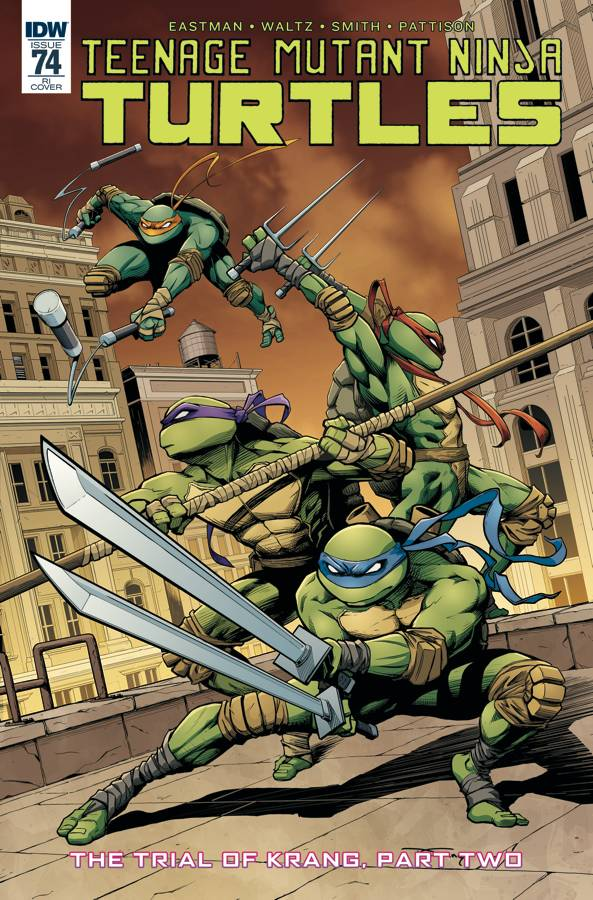 Teenage Mutant Ninja Turtles #74 1/10 Donny Tran Variant