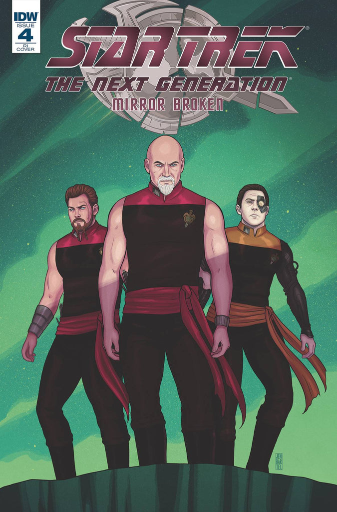 Star Trek The Next Generation Mirror Broken #4 1/10 Jen Bartel Variant