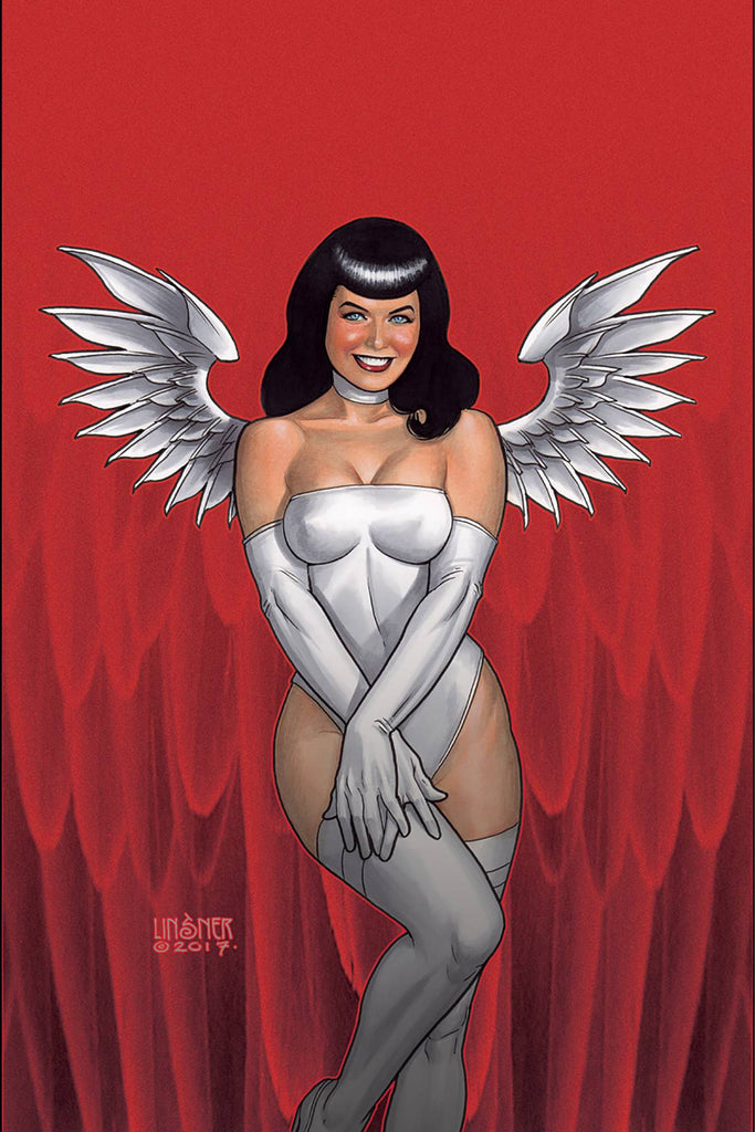 Bettie Page #3 1/20 Joseph Michael Linsner Virgin Art Variant