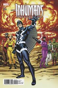 Inhumans Once & Future Kings #2 1/25 Brian Stelfreeze Variant