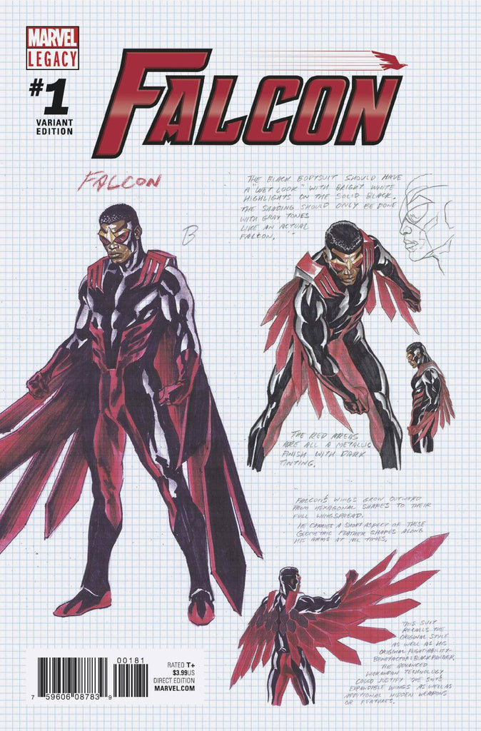 Falcon #1 1/100 Alex Ross Design Variant