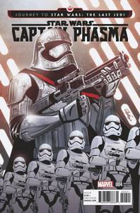 Star Wars Journey to Star Wars The Last Jedi Captain Phasma #4 1/25 Elsa Charretier Variant