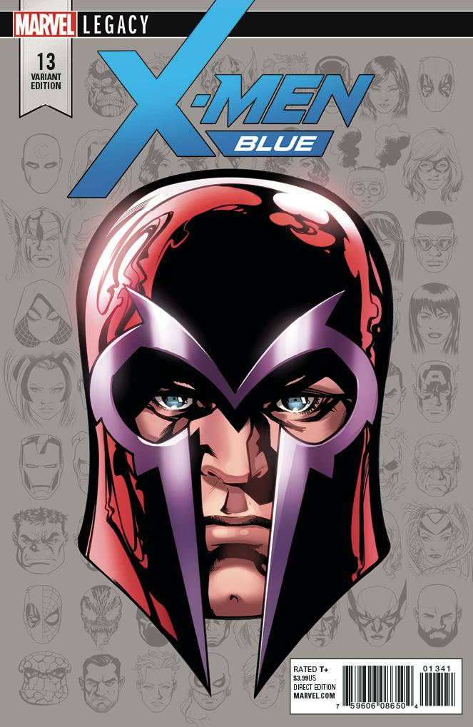 X-Men Blue #13 1/10 Mike McKone Legacy Headshot Variant