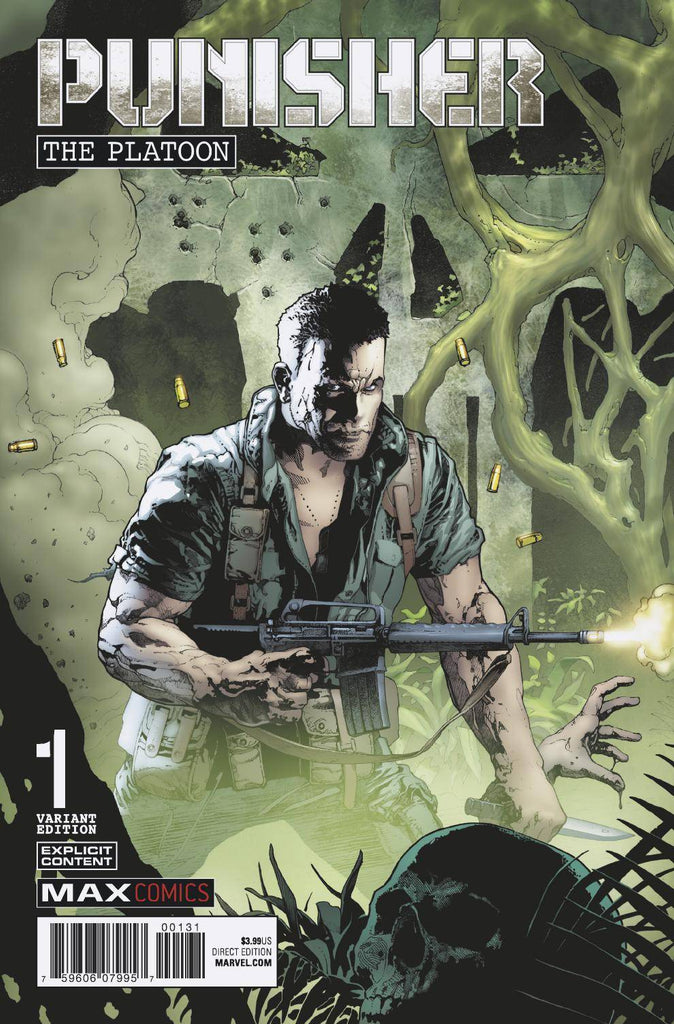 Punisher The Platoon #1 1/50 Andy Brase Variant