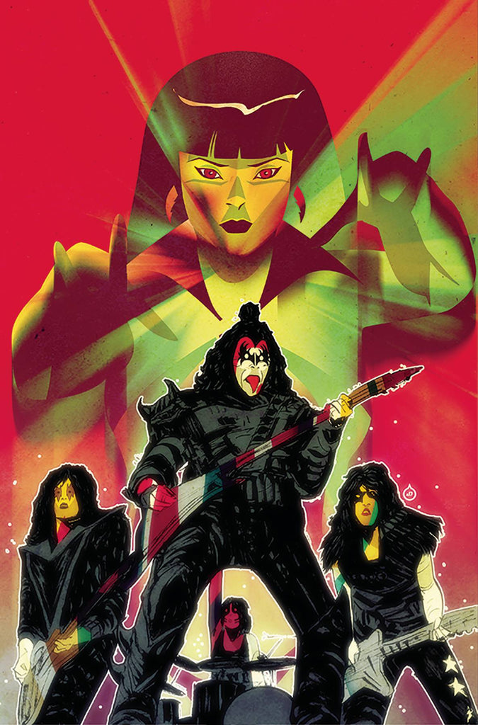 KISS/Vampirella #5 1/15 Juan Doe Virgin Art Variant