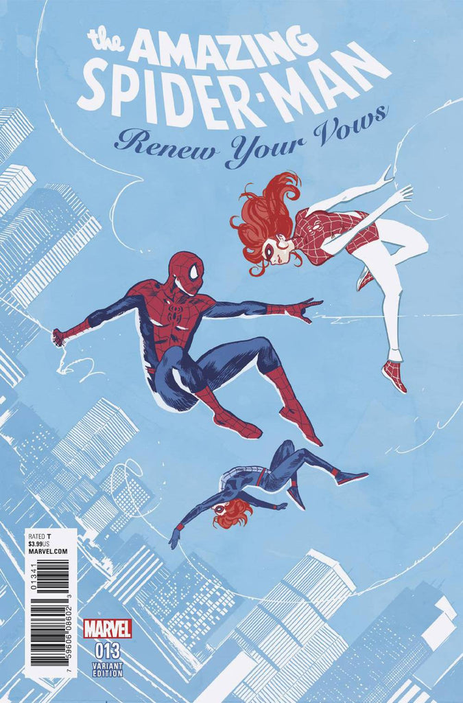 Amazing Spider-Man: Renew Your Vows #13 1/25 Michael Walsh Variant