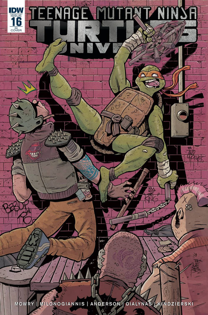 Teenage Mutant Ninja Turtles Universe #16 1/10 Jake Smith Variant