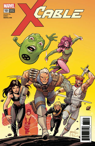 Cable #151 1/25 Tom Grummett Variant