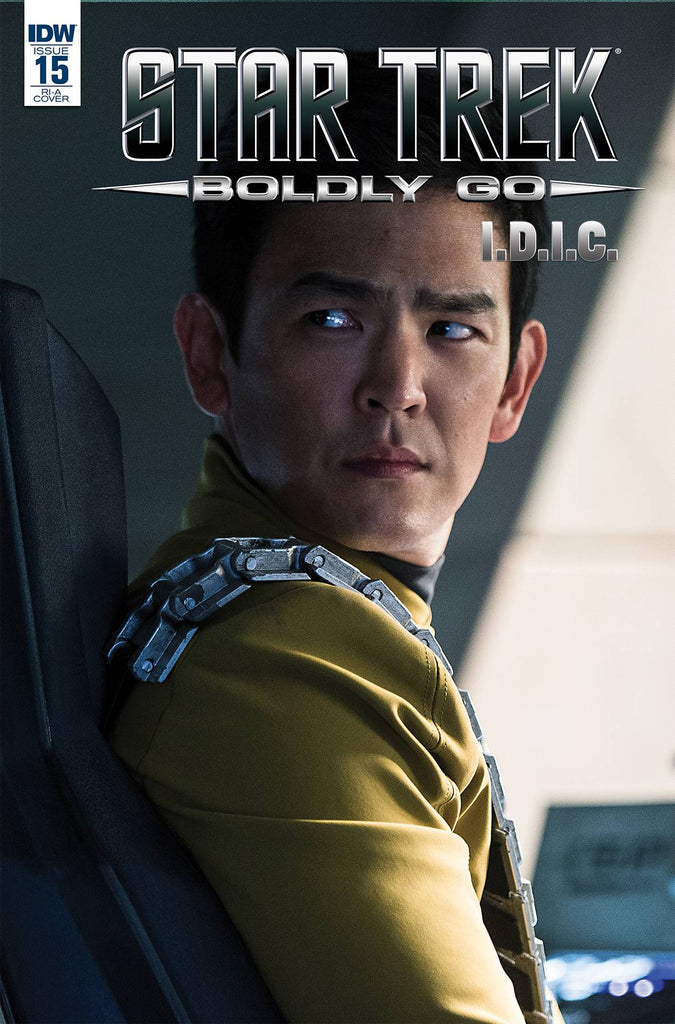 Star Trek Boldly Go #15 1/10 John Cho Sulu Movie Photo Variant