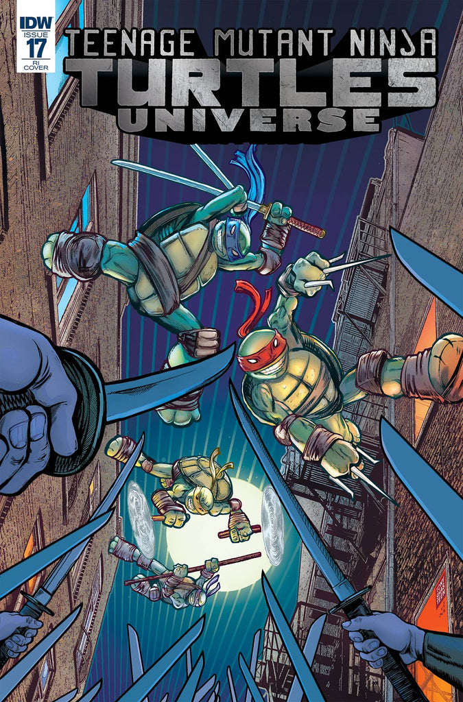 Teenage Mutant Ninja Turtles Universe #17 1/10 Tony Shasteen Variant