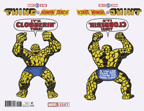 Marvel Two-In-One #1 1/50 Jack Kirby 1965 T-Shirt Variant