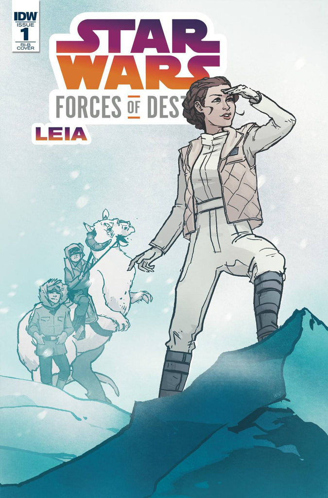 Star Wars Adventures Forces Of Destiny Leia 1/20 Annie Wu Variant