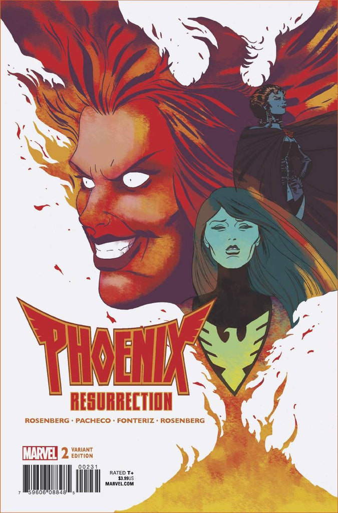 Phoenix Resurrection The Return of Jean Grey #2 1/25 Marcos Martin Variant