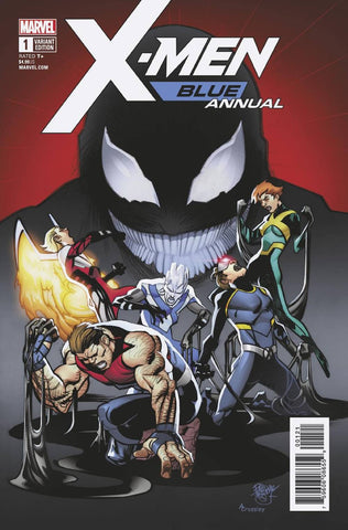 X-Men Blue Annual #1 1/25 Pasqual Ferry Poison-X Variant