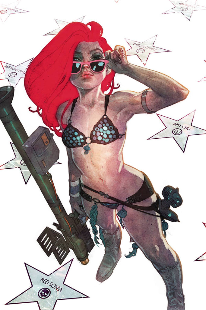 Red Sonja #13 1/10 Ben Caldwell Virgin Art Variant