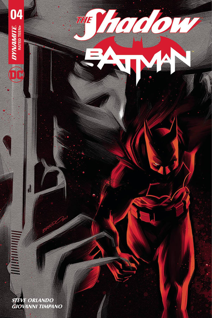 The Shadow Batman #4 1/40 Brandon Peterson Variant