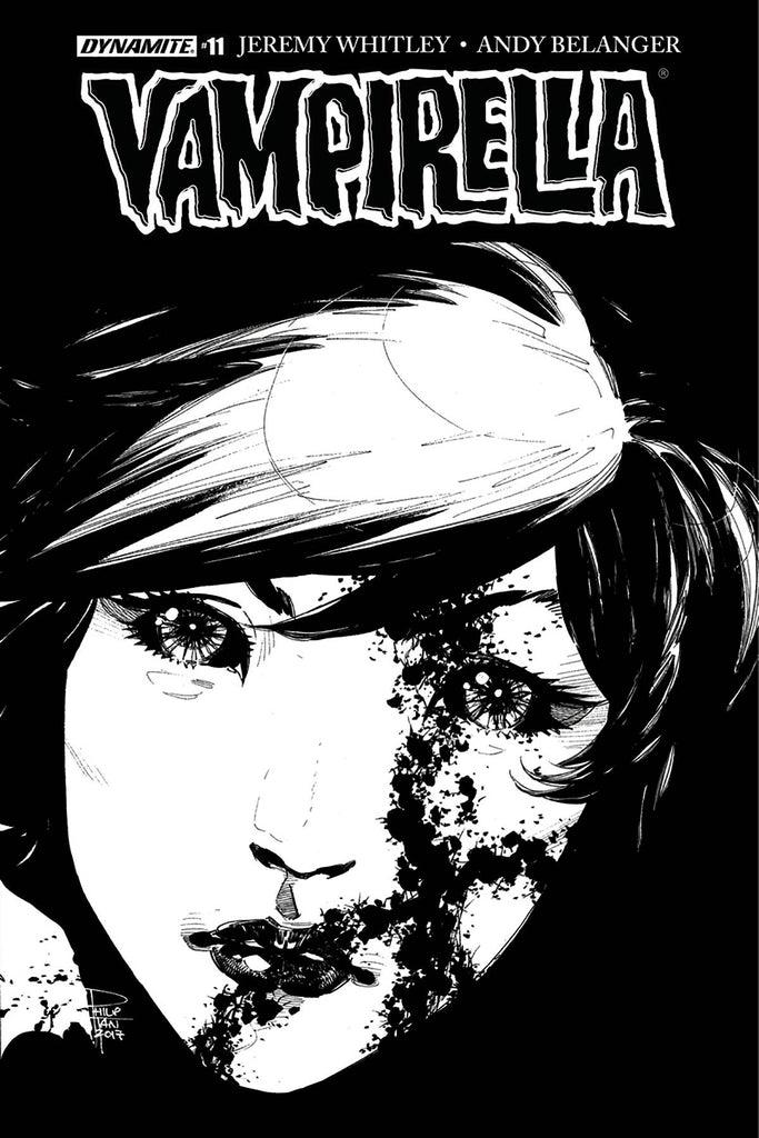 Vampirella #11 1/20 Philip Tan Black & White Variant