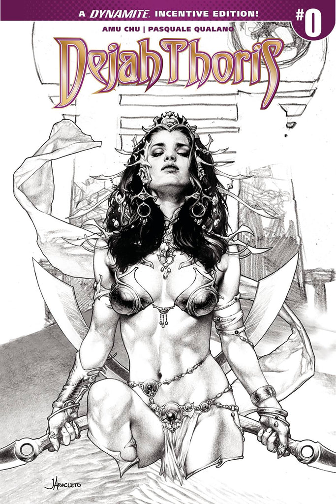 Dejah Thoris #0 1/25 Jay Anacleto Sneak Peek Sketch Variant