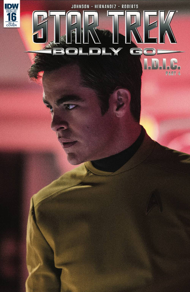 Star Trek Boldly Go #16 1/10 Chris Pine Kirk Movie Photo Variant