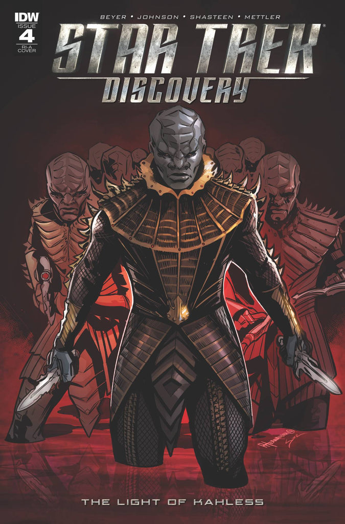 Star Trek Discovery The Light of Kahless #4 1/10 Angel Hernandez Variant