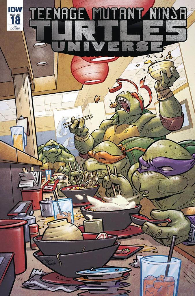 Teenage Mutant Ninja Turtles Universe #18 1/10 Ron Chan Variant