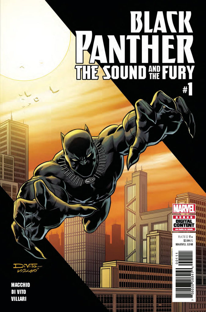 Black Panther: The Sound and the Fury (Vol 1 2018) #1 CVR A