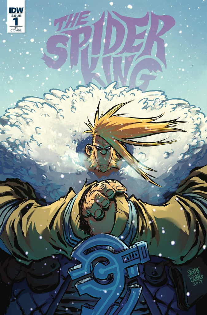 The Spider King #1 1/10 Skottie Young Variant