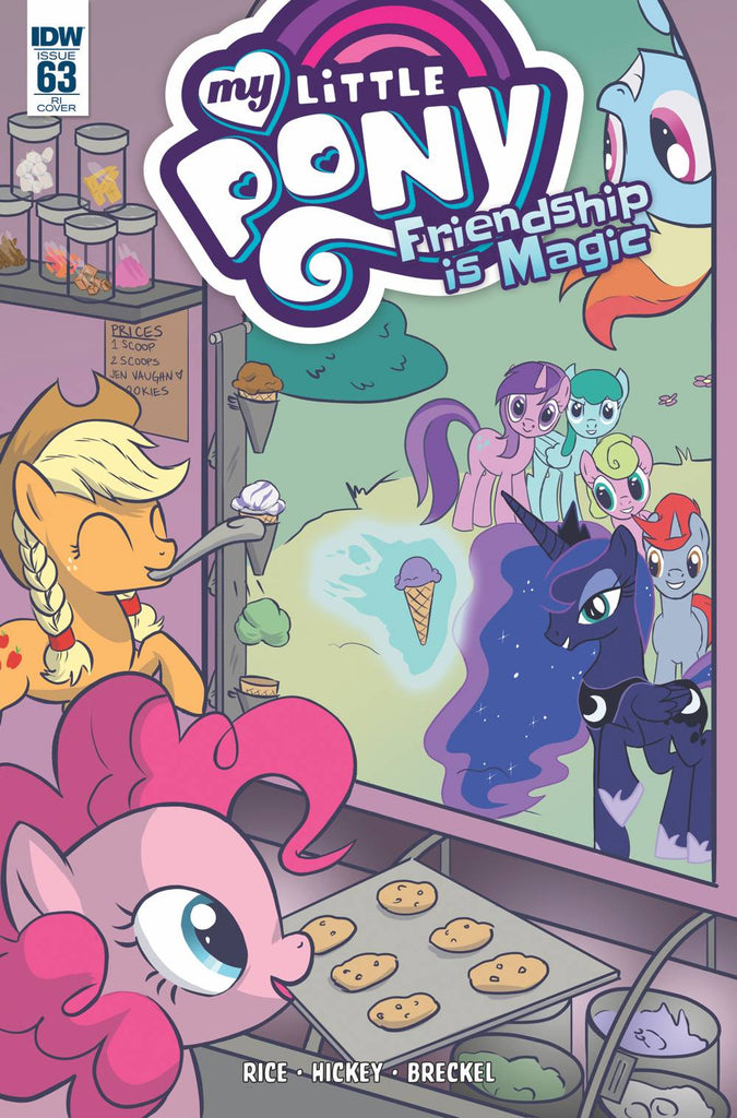 My Little Pony Friendship Is Magic #63 1/10 Jen Vaughn Variant