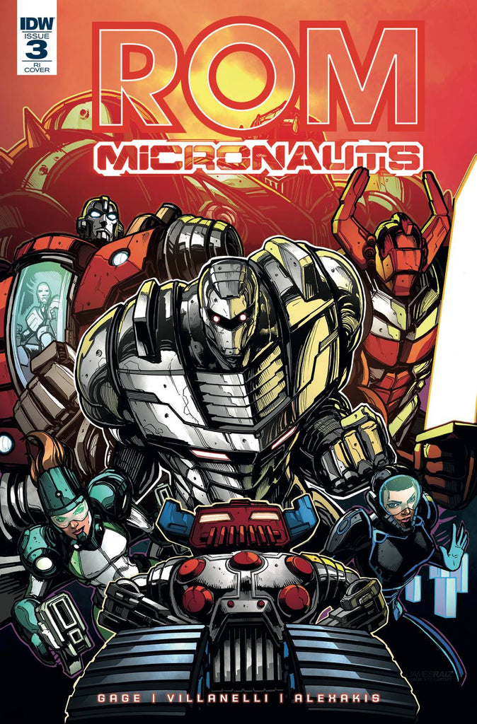 Rom & The Micronauts #3 1/10 James Raiz Variant
