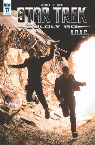 Star Trek Boldly Go #17 1/10 Photo Variant