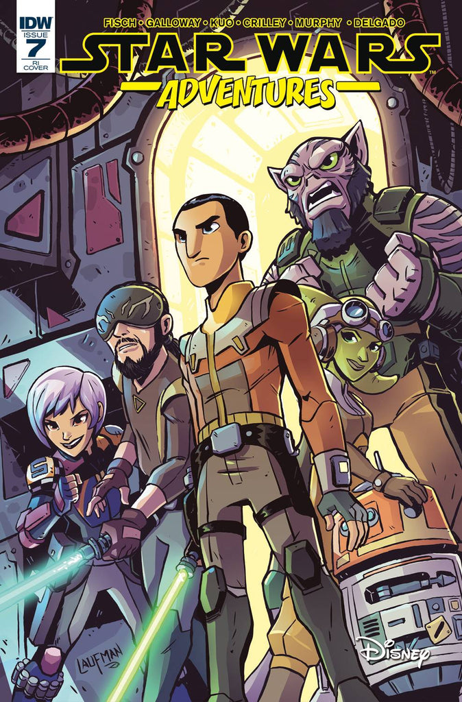 Star Wars Adventures #7 1/10 Derek Laufman Star Wars Rebels Variant
