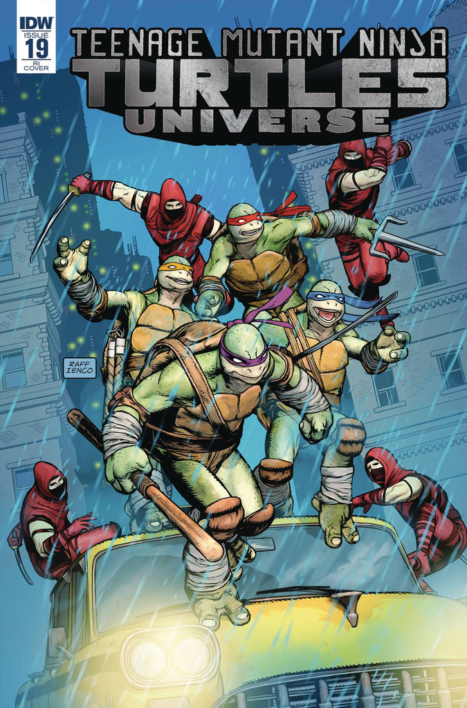 Teenage Mutant Ninja Turtles Universe #19 1/10 Raffaele Ienco Variant