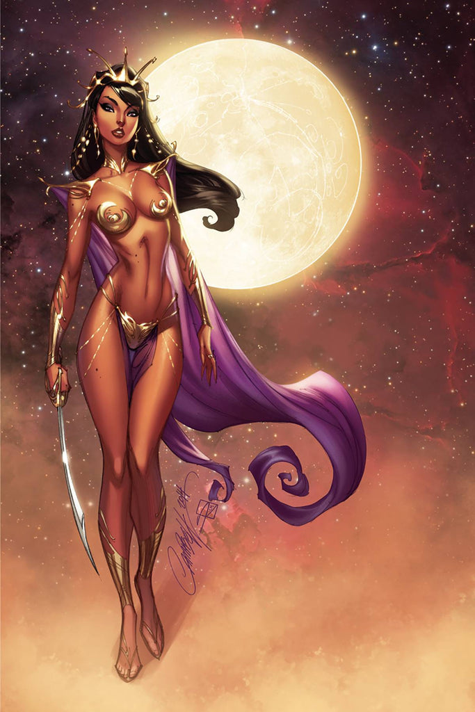 Dejah Thoris #1 1/30 Copy J. Scott Campbell Virgin Art Variant