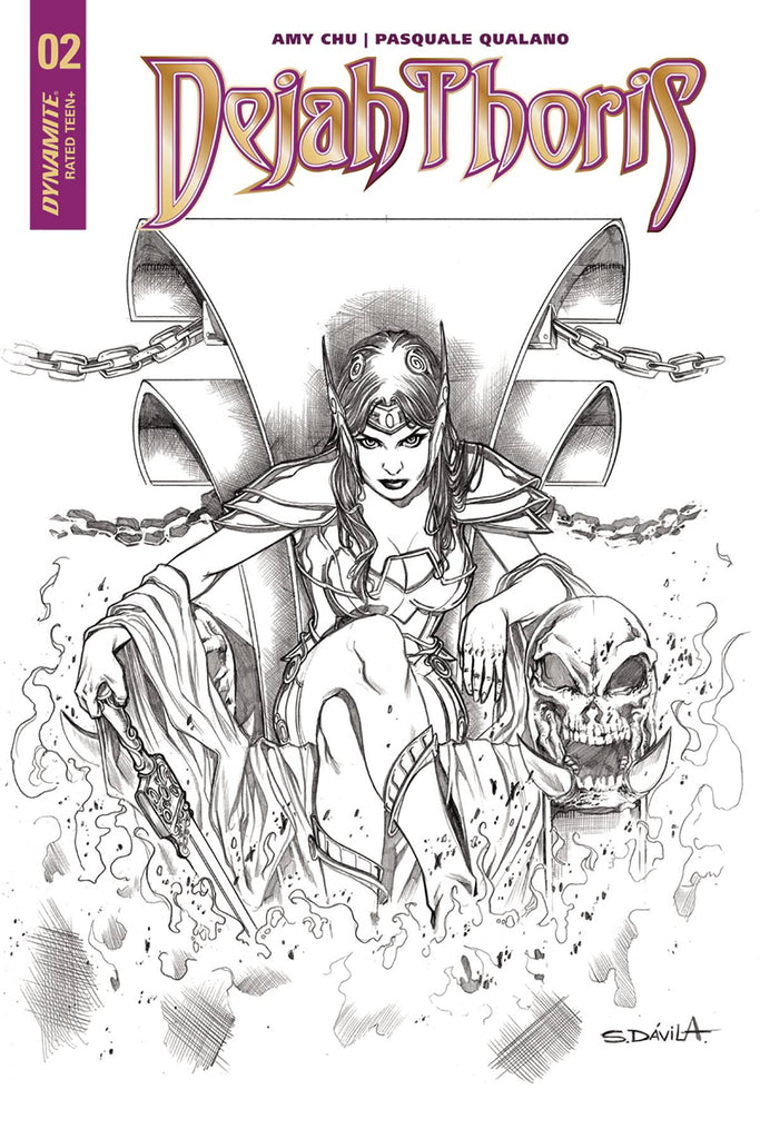 Dejah Thoris #2 1/20 Copy Sergio Davila Sketch Variant