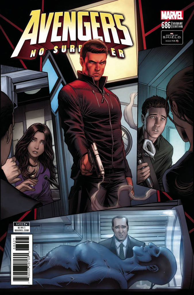 Avengers #686 1/10 Dale Keown Agents of Shield Road To 100 Variant