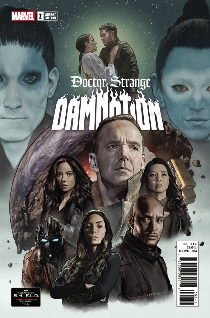 Doctor Strange Damnation #2 1/10 Agents of SHIELD Road to 100 Variant