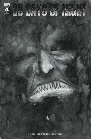 30 Days Of Night #4 1/10 Ben Templesmith Variant