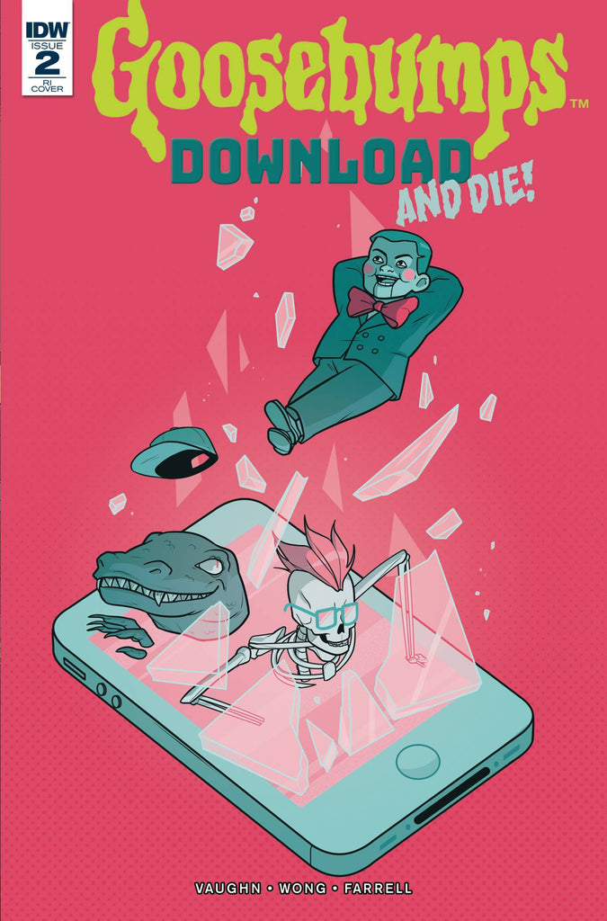 Goosebumps Download & Die #2 1/10 Sara Duvall Variant