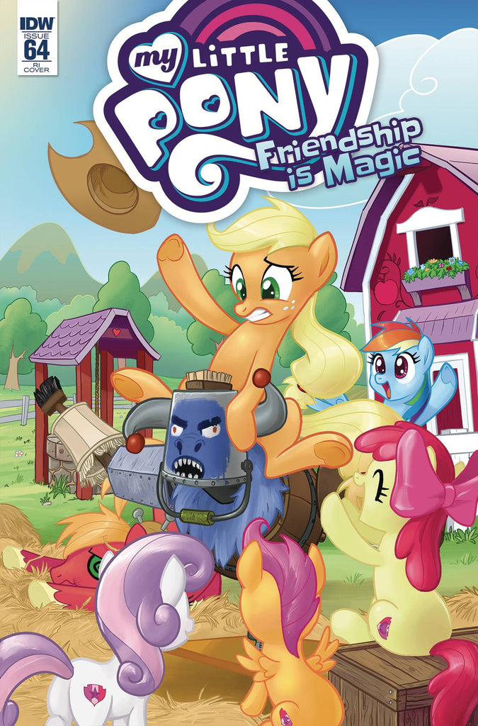 My Little Pony Friendship Is Magic #64 1/10 Tony Kusisto Variant